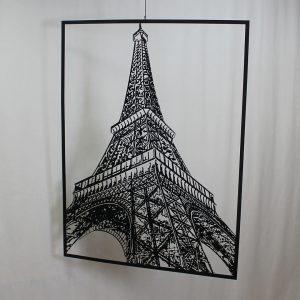 "Картина из металла ""Эйфелева башня"""