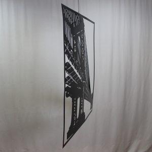 """Картина из металла """"Бруклинский мост"""""""