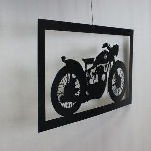"Картина из металла ""Мотоцикл"""