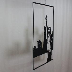 """Картина из металла """"Статуя свободы"""""""