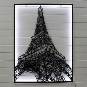 "Картина с подсветкой ""Эйфелева башня"""
